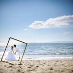 2013/8/17 和歌山のビーチでロケーション撮影