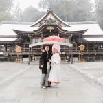 2014/2/8 大神神社と奈良ホテルでの撮影