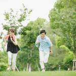 2014/6/30 大阪中之島公園でエンゲージメントフォト