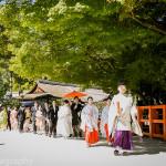 上賀茂神社にて和装wedding撮影